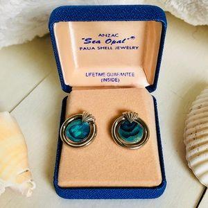 Anzac Silver Earrings